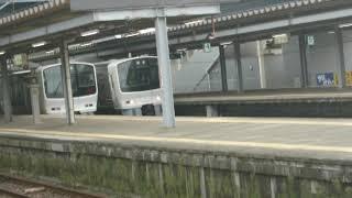 811系普通列車博多行き福間駅発車