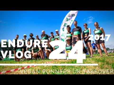 ENDURE 24 2017 // VLOG // VEGAN RUNNERS UK