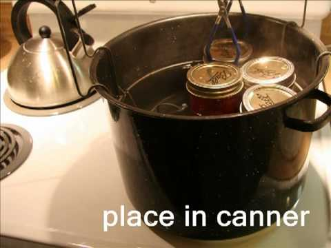 Boiling Water Canner Step-by-Step Pictorial.wmv