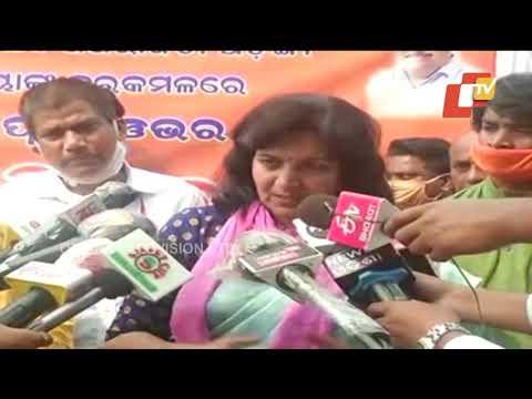 i-want-to-do-politics-of-development--mp-aparajita-sarangi