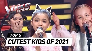 The CUTEST Blind Auditions in 2021 on The Voice Kids
