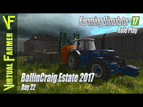 Change is coming! | BallinCraig Estate 2017, Day 22: Farming Simulator 17 Roleplay