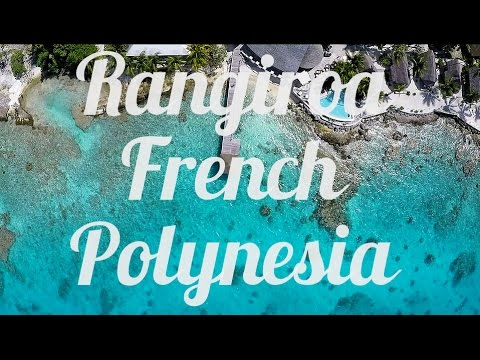 Rangiroa, French Polynesia, Aerial Drone Video