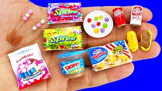 14 DIY MINIATURE FOOD AND SWEETS HACKS AND CRAFTS !!!!