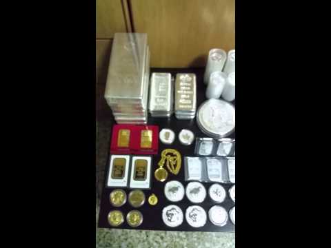 1000 oz Gold & Silver Stacker in Singapore