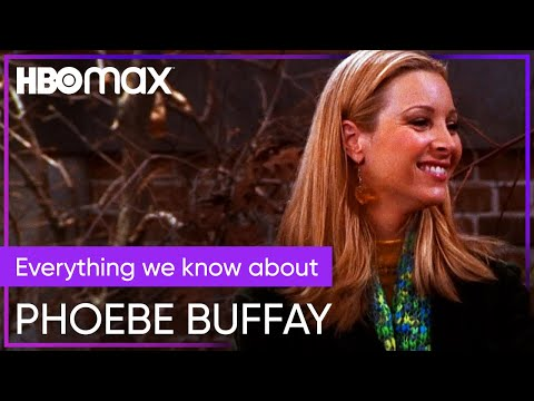 Phoebe Buffay's Shocking Life Story | Friends | HBO Max indir