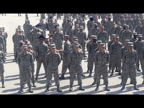 USAF Basic Training Graduation