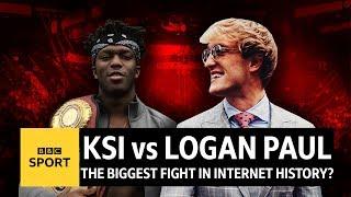 KSI v Logan Paul: The biggest fight of 2018 so far? - BBC Sport