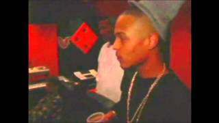 T.I. & Jim Jones The Diplomats In Studio (2004)