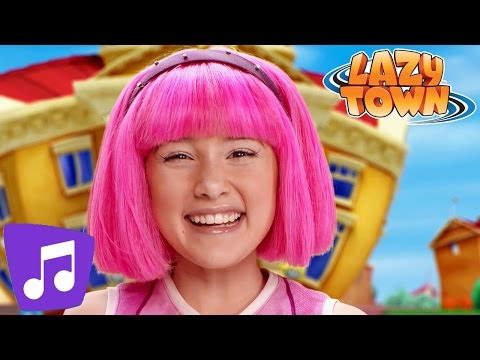Lazy Town Deutsch | TEAMWORK | Musikvideo