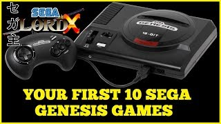 Your First 10 Sega Genesis Games
