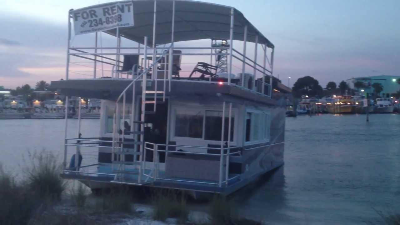 Butterfly Goddess House Boat Rental In Destin Florida