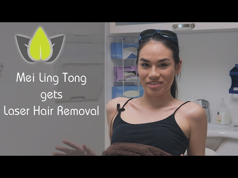 Mei Ling Tong gets Laser Hair Removal at Havana Skin Clinic