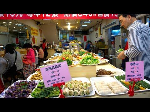Amazing vegetarian food in Taipei   Taiwan