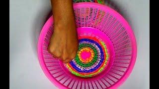 How to make Unique Rangoli Design using Basket for diwali special / Easy Rangoli Design Tutorial