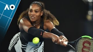 Venus Williams v Serena Williams match highlights (Final) | Australian Open 2017