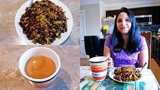 Tea   Famous North Indian Breakfast with Tea    Chana Fry with Tea   Masala Tea   Jyotsana's Home