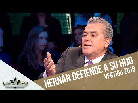 Hernán Calderón defiende a su hijo de las críticas | Vértigo 2018