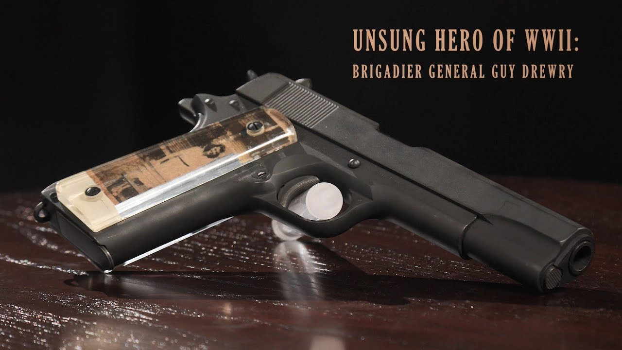 WWII U S  Colt Model 1911A1 Pistol with Sweetheart Grips