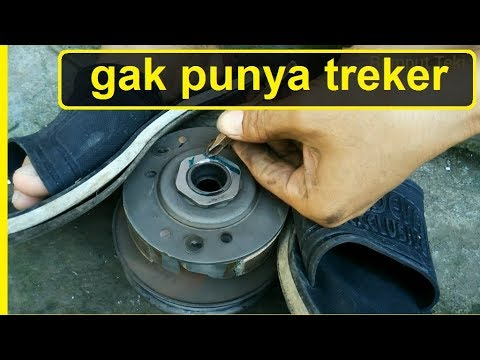How To Change Scooter Clutch Weight Set Without Tracker