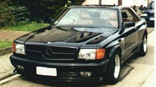Выгул Mercedes-Benz W126 (кабриолет) 1986 г. + (W140)