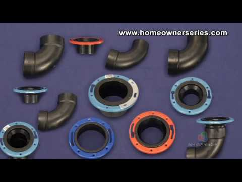 Toilet Repairs - Toilet Flange - Parts - YouTube