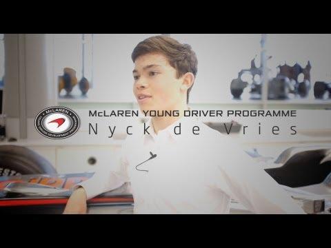 McLaren's Young Drivers: Nyck de Vries