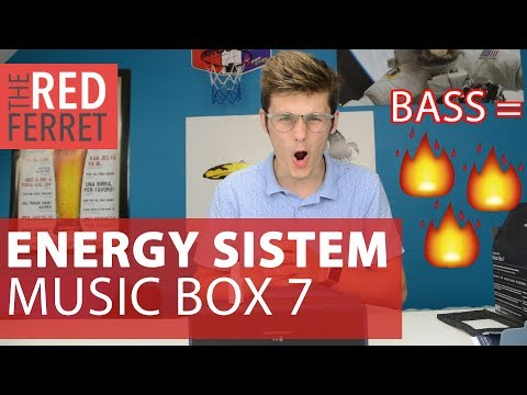 Energy Sistem Music Box 7 - Amazing Speaker with Extreme Bass [REVIEW]