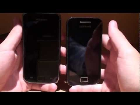 Samsung galaxy S Plus VS Ace // Pro Android