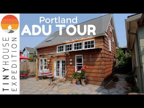 Impeccably Designed Portland ADU W/ ADU 101: How Do Tiny Houses Fit?
