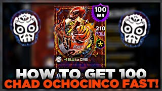 HOW TO GET 100 CHAD OCHOCINCO FAST! - Madden Mobile 21
