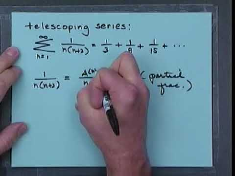 NCSU MA241Lct39   Telescoping Series, Harmonic Series, and Divergence Test