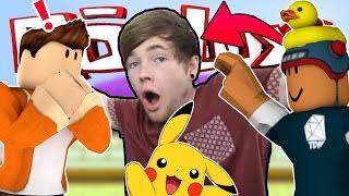 ROBLOX | Pokémon Brick Bronze | HE'S FRIENDS WITH DANTDM?!