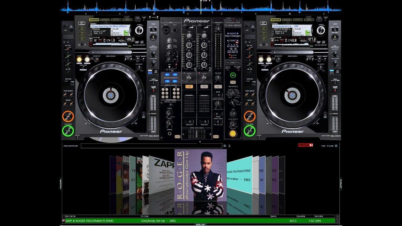 Skin CDJ-2000 y DJM-800 para VirtualDJ [MUY BUENO] - YouTube