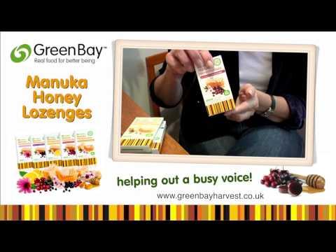 Green Bay Harvest - Benefits of Manuka Honey Lozenges
