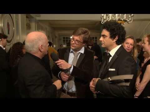 ECHO Klassik 2013 - Daniel Barenboim und Rolando Villazón nach der Preisvergabe