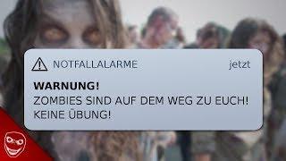 Gruselige Benachrichtigung warnt vor Zombie-Apokalypse!
