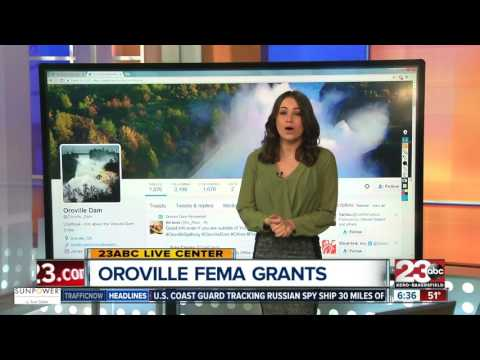 FEMA Grants Could Help Oroville Dam