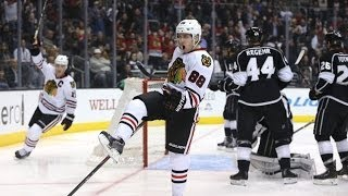 patrick kane beats quick five hole on the pp