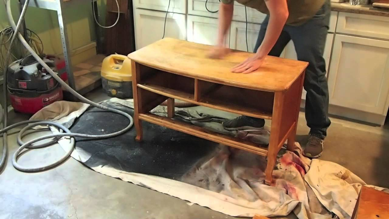 How To Refinish A Dresser Birds Eye Maple Garage Find