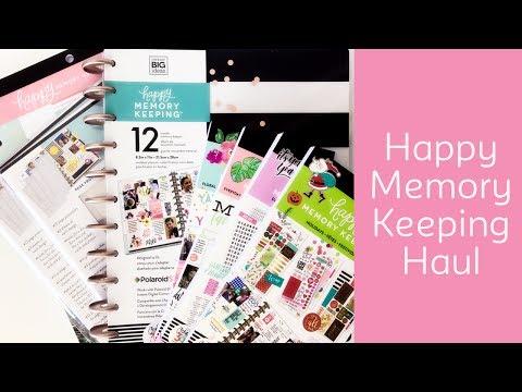 Me & My Big Ideas Happy Memory Keeping Haul