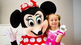 Gaby y el cumpleaños de Minnie Mouse