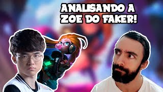 Analisando a Zoe do Faker no League of Legends