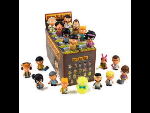 Unboxing TWO Kidrobot Bobs Burgers Vinyl Figures Case Blind Box