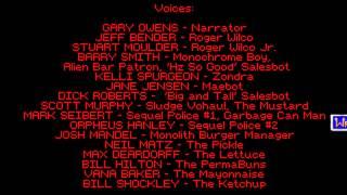 Space Quest 4 Credits Music — Adlib