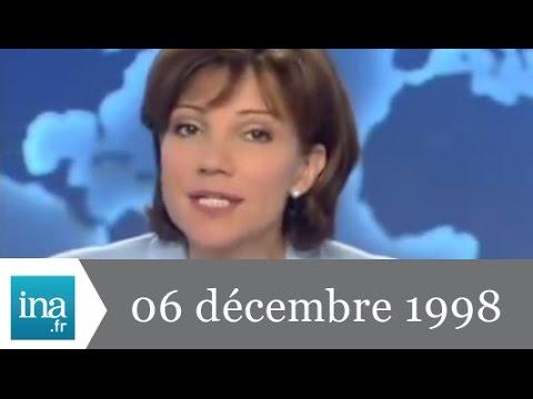 20h France 2 du 06 décembre 1998 - Drame au Zoo de Doué la Fontaine - Archive INA