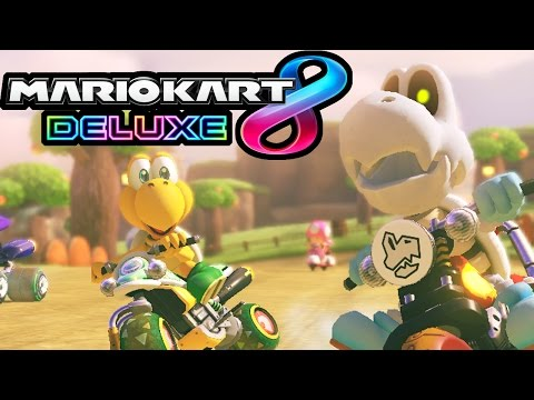 Mario Kart 8 Deluxe LIVE - Switch Gameplay Walkthrough - Feather Cup Tournament with Danielle!