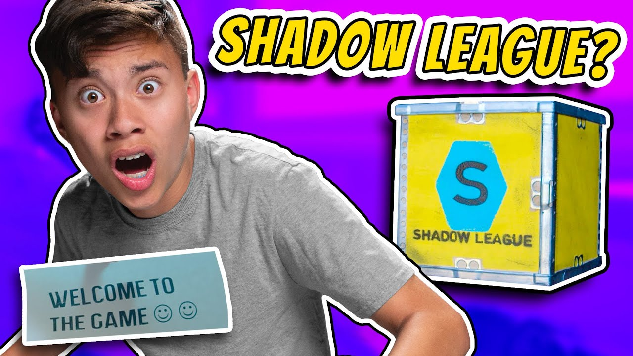 SOMEONE SENT ME A MYSTERIOUS PACKAGE! (Have you heard of Shadow League?)