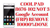 Coolpad Mega 3 3503I Frp And Gmail Bypass New Trick Work