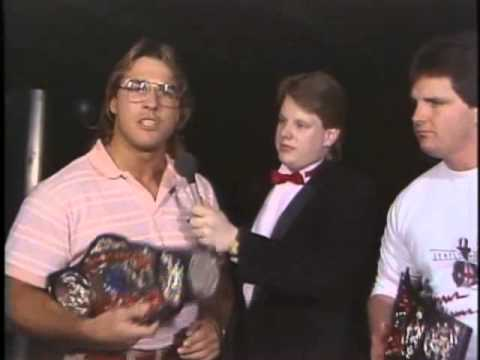 Chris Adams & Terry Taylor interview.  (3/87)